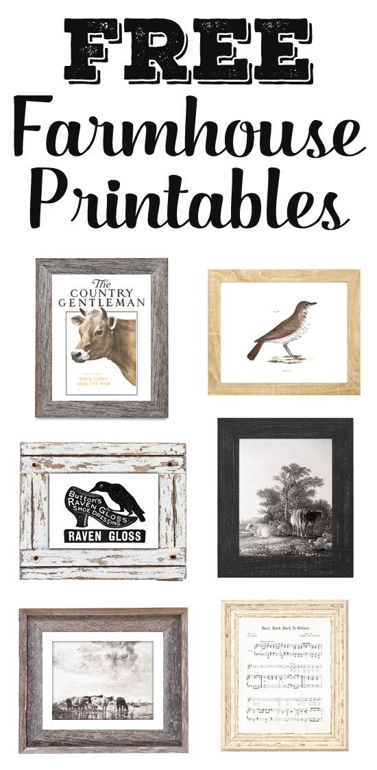 image relating to Printable Farmhouse Signs called Cost-free Printable Farmhouse Indications