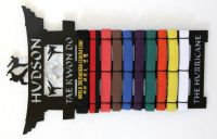 Martial Arts Belt Rack: Tae Kwon Do Belt Display Rack ...