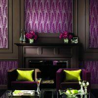 "Living Room | Purple/Brown/Green color scheme | ""nice ..."