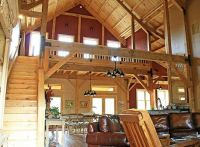 Barn house interior | House ideas | Pinterest | Pole barns ...