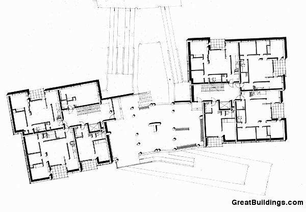 Alvar Aalto: Hansaviertel Block of Flats, 1955-57, Berlin