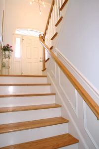 split foyer | Split foyer ideas | Pinterest | Entry stairs ...