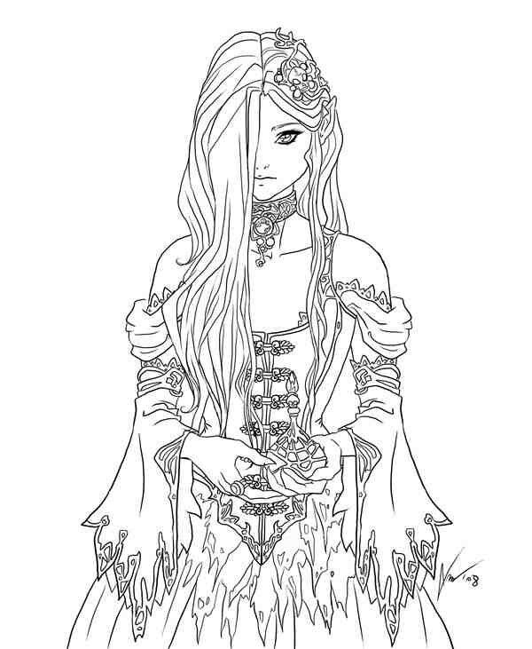 Fairy Coloring Pages For Adults 40 Image Collections