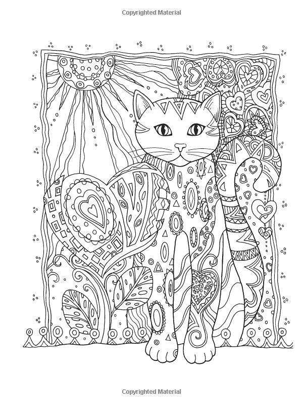Creative Haven Creative Cats Coloring Book (Creative Haven