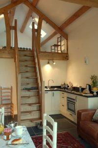 Barn apartment - for a very small space | Horse barns ...