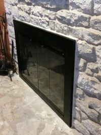 1000+ ideas about Fireplace Doors on Pinterest