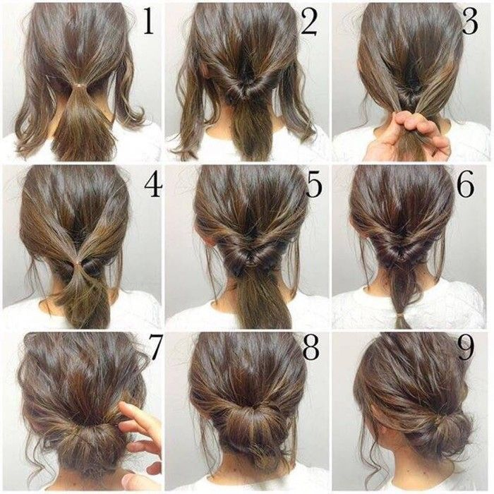 25 Best Ideas About Step By Step Hairstyles On Pinterest Quick