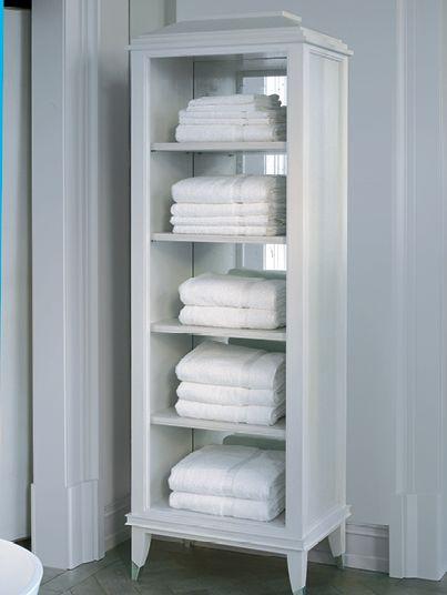 Image of a freestanding Shagreen towel rack  Sherrees