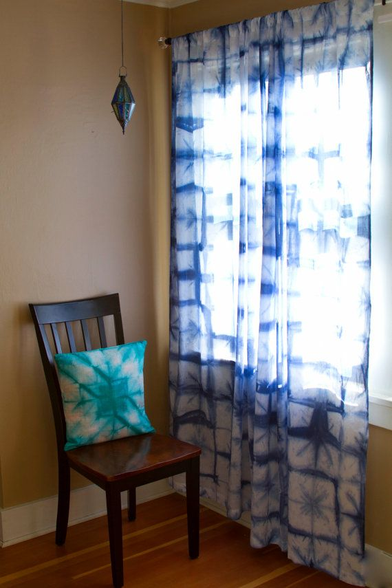12 Best Images About Tie Dye Curtains On Pinterest Indigo Ombre