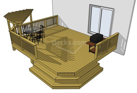 12 Free Deck Plan Sizes Available To Download Immediately