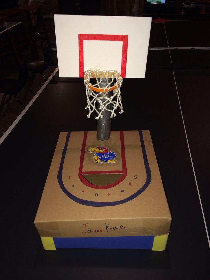 Bubs Basketball Valentines Box 2013 2nd Grade