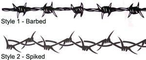 25+ best ideas about Barbed wire tattoos on Pinterest