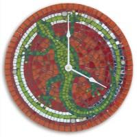 1000+ images about Mosaic clocks on Pinterest | Mosaic ...