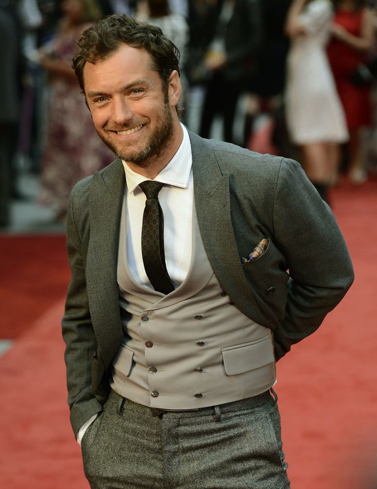 Jude Law at the Anna Karenina premiere on September 4, 2012 in London, UK