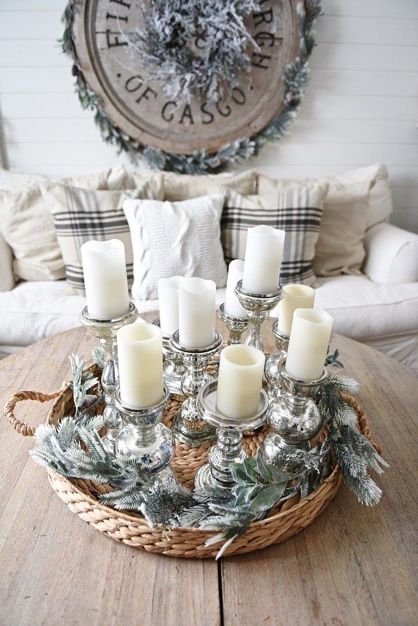 rustic cabin living room decorating ideas antique dresser in 15 must-see winter decor pins | wood crafts ...