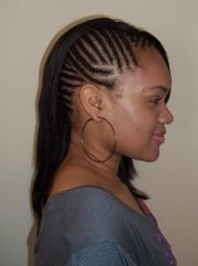 cornrows with sew