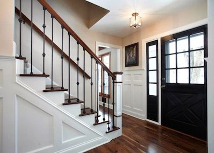 Center Hall Colonial Foyer Remodeling Ideas Entry