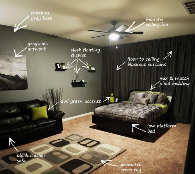 25 Best Ideas About Man S Bedroom On Pinterest Men Decor And Design