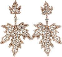 INBAR Diamond Maple Leaf Earrings | Jewels | Pinterest ...