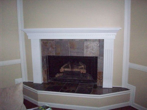 Diy Fireplace Refacing Stone Make An Easy Fireplace Refacing How To Reface A Brick Fireplace With Wood | Fireplace Make
