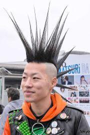 mohawk hairstyles men hawk