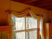 25+ best ideas about Scarf Valance on Pinterest | Curtain ...