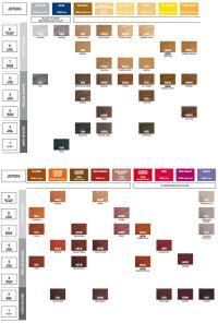 Redken Shades EQ Color Gloss Color Chart | Hair ...
