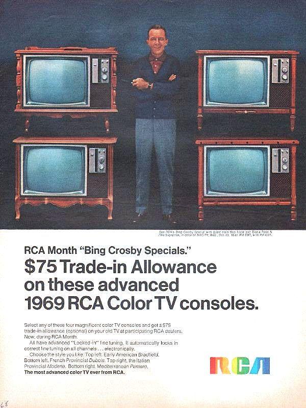Vintage Rca Television Sets