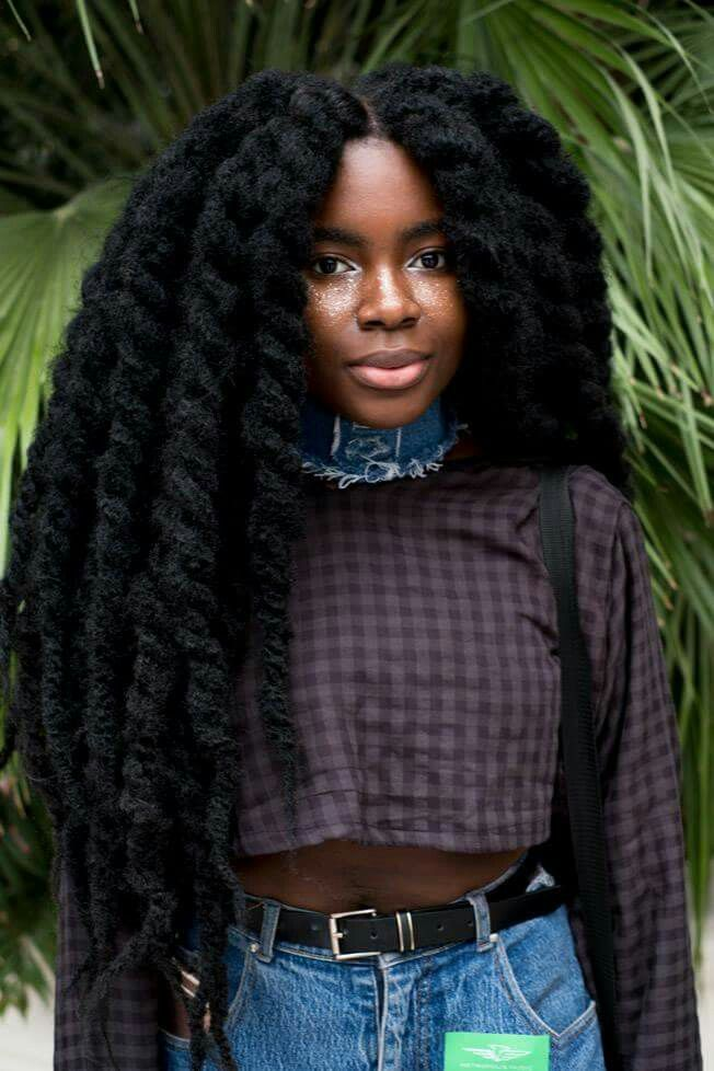 25 best ideas about Long natural hair on Pinterest  Hip length hair African american natural