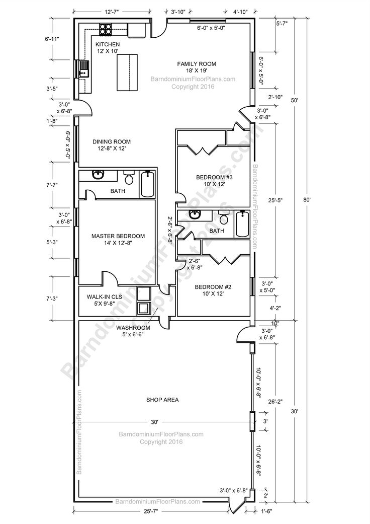 25+ best ideas about Barndominium plans on Pinterest