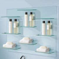 25+ best ideas about Floating glass shelves on Pinterest ...