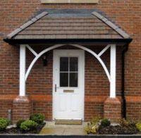 1000+ ideas about Door Canopy on Pinterest   Front door ...