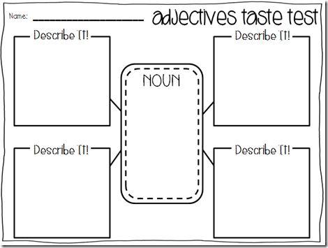 25+ best ideas about Adjectives activities on Pinterest