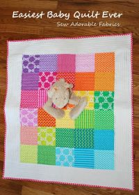 11 best images about quick and easy beginner baby quilt ...