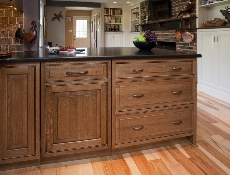 View Of Inset Dishwasher With Matching Cabinet Panel