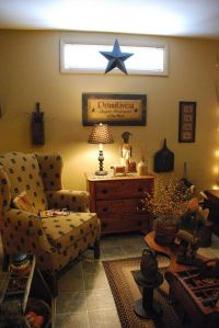 1000+ images about Primitive Livingroom on Pinterest