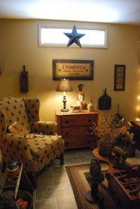 1000+ images about Primitive Livingroom on Pinterest ...