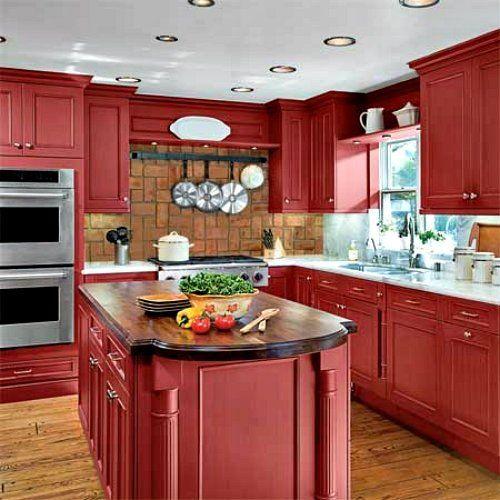 Best 25 Kitchen Ideas Red ideas on Pinterest  Small