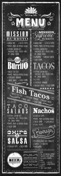 25+ best ideas about Blackboard menu on Pinterest | Menu ...