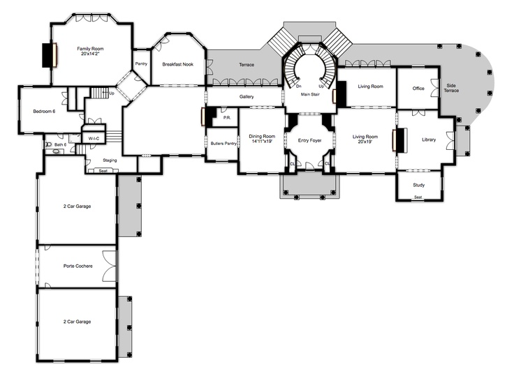 1000+ images about Cool floorplans on Pinterest