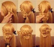 rose braid hair tutorial 's