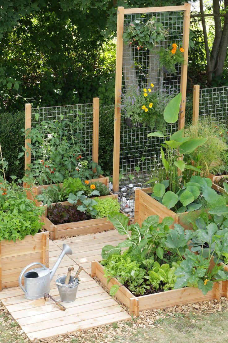 Standing Vegetable Garden Box