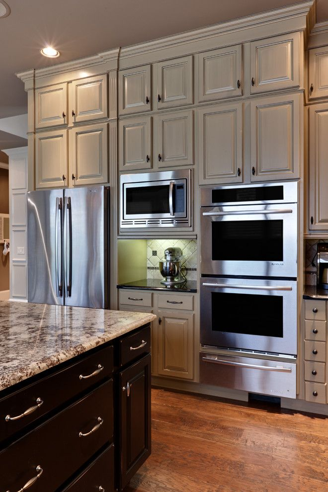 Traditional Kitchen Microwave Placement In Kitchen Design, Pictures, Remodel, Decor and Ideas