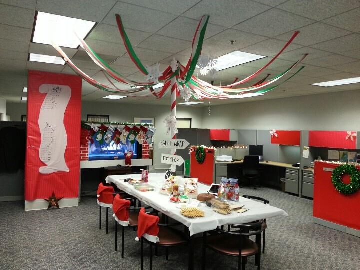office christmas decor