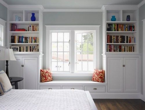 My dream house would have built ins like this! (found via Thrifty Decor