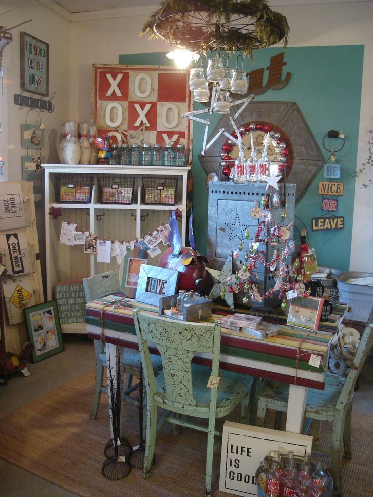 10 images about Booth DisplaysFlea Market Ideas on