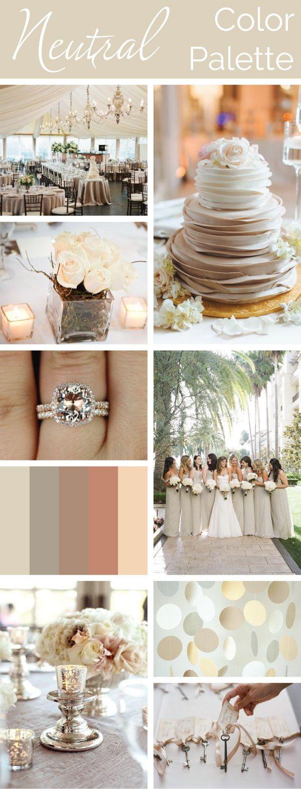 Neutral Color Palette: Simple, Elegant, Versatile. | Linentablecloth