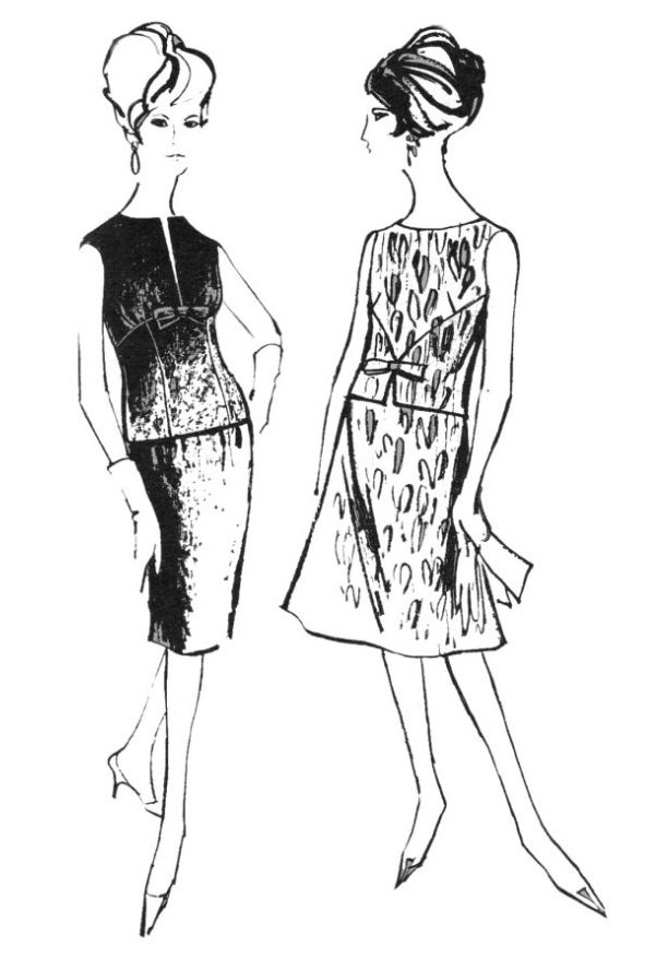 1000+ images about Fashion sketches and patterns of the