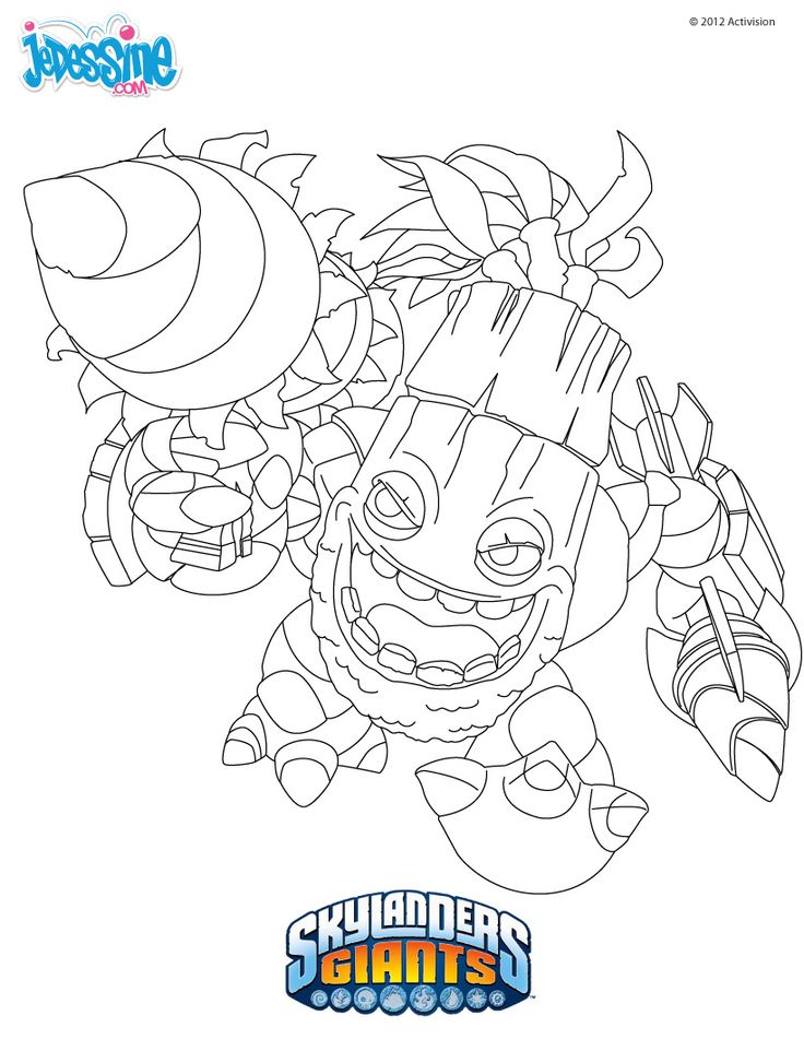13 best images about skylanders colouring on pinterest