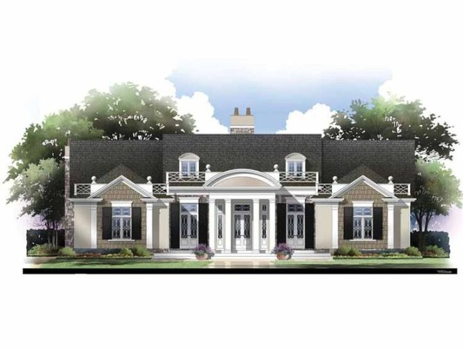 Remarkable Neoclassical House Plans Ideas Best Inspiration Home - Neoclassical house plans
